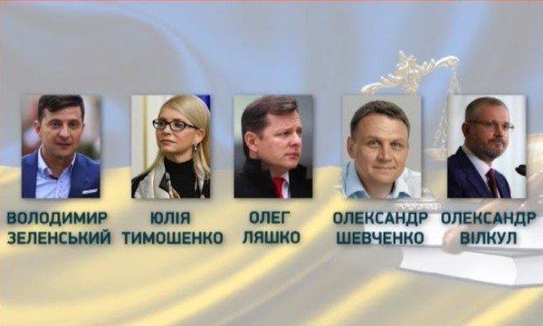 Зеленський, Порошенко, Тимошенко... хто більше: що обіцяють кандидати в президенти